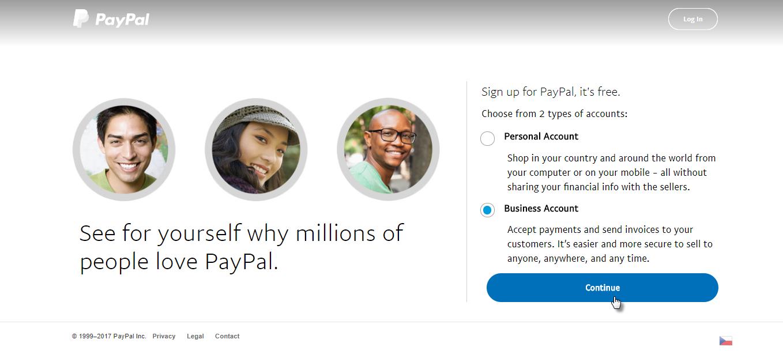 PayPal empresarial
