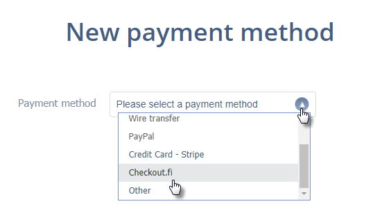 Setting up Checkout.fi in your online store