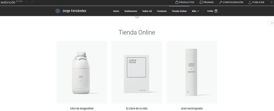 Añadir tienda online