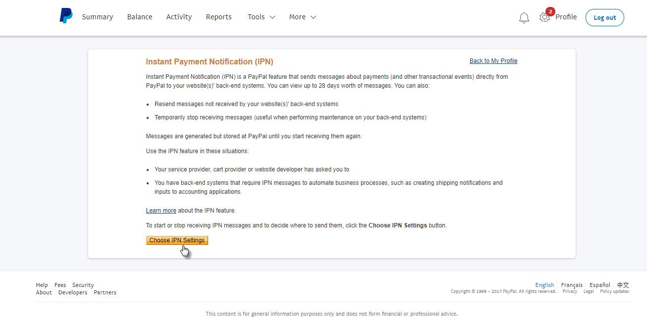 Kako svoj PayPal postaviti kao način plaćanja