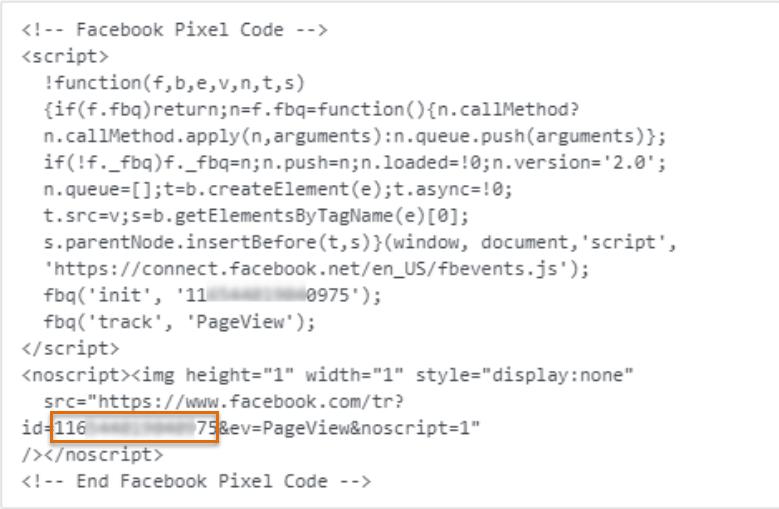 Usar Facebook pixel no site Webnode