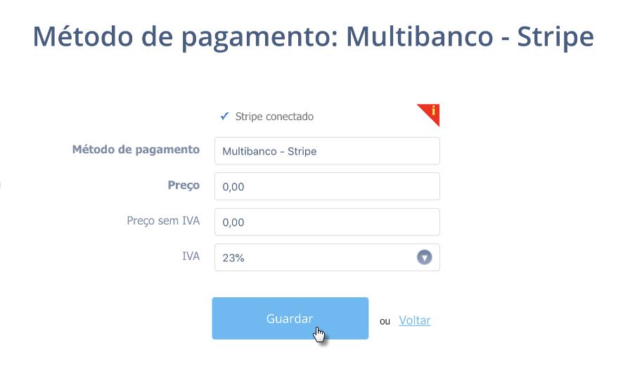Configurar Multibanco