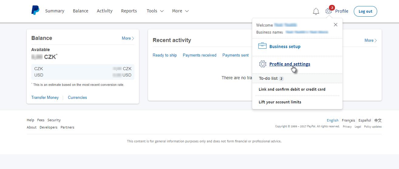 Cum să setați PayPal ca și metodă de plată