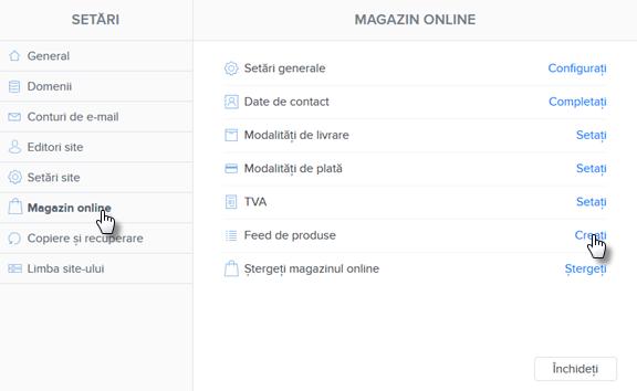 Cum să exportați produsele în cadrul site-urilor de comparare a prețurilor
