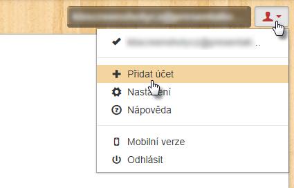 Jak přidat do webmailu další účty