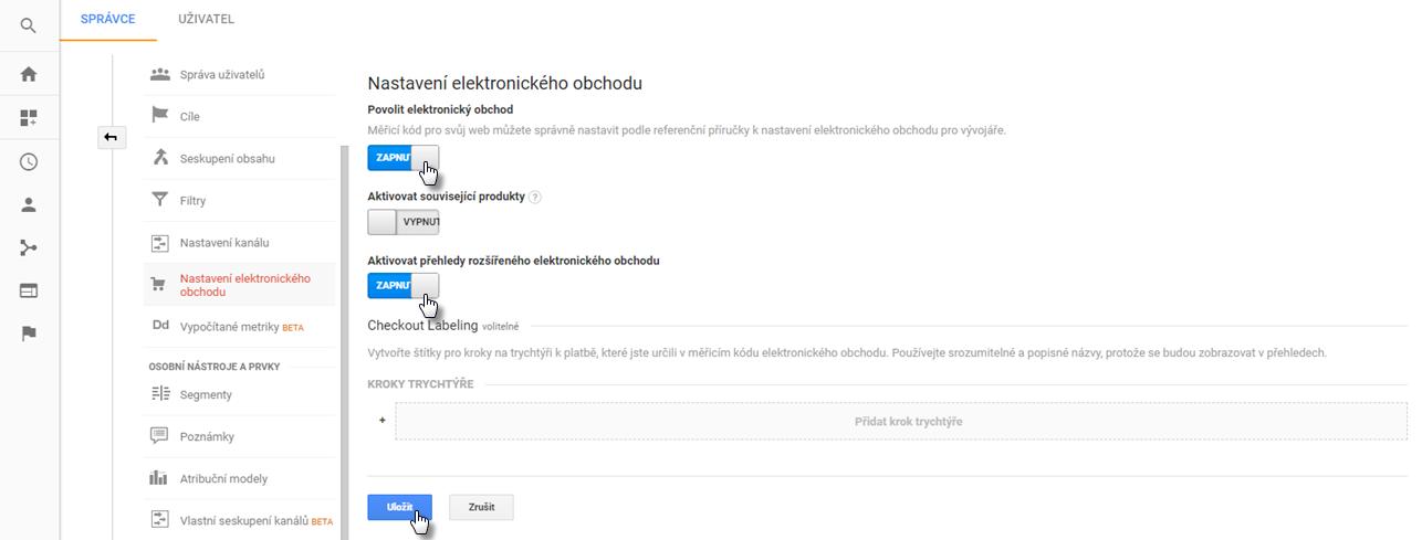 Jak propojit e-shop s Google Analytics