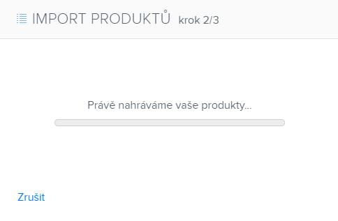Jak importovat produkty