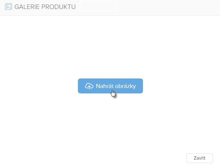 Jak přidat produkt