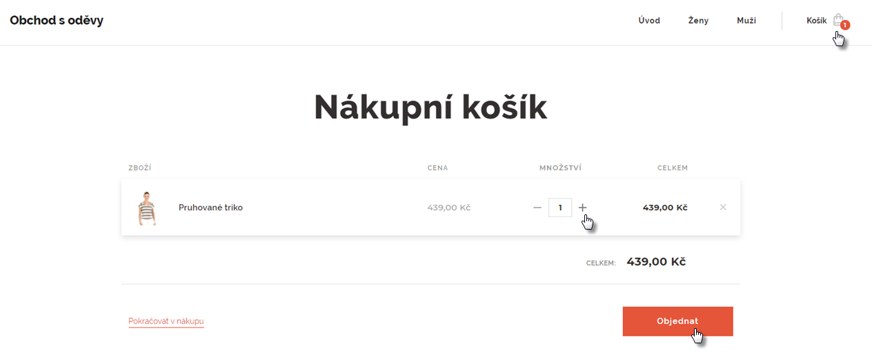 E-shop očima zákazníka