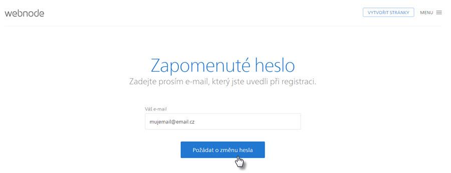 Jak si obnovit ztracené heslo