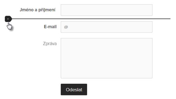 Jak vložit formulář