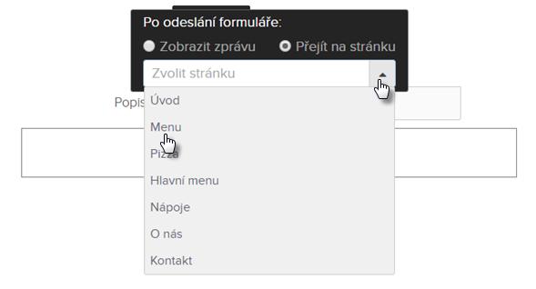 Webnode - Jak spravovat formuláře f7a694cd8a8