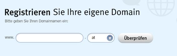 Domain überprüfen