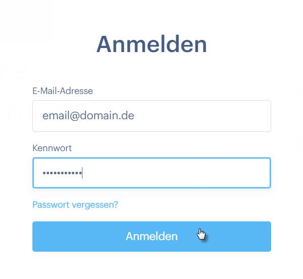 mail anmelden