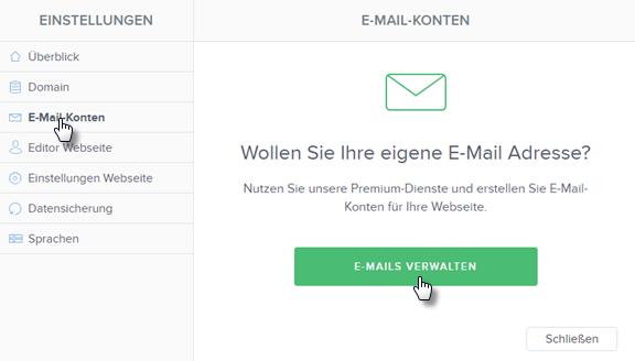 Wie einrichtet man E-Mail Umleitung