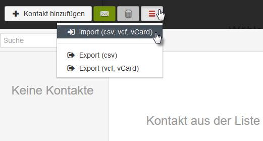 Importieren