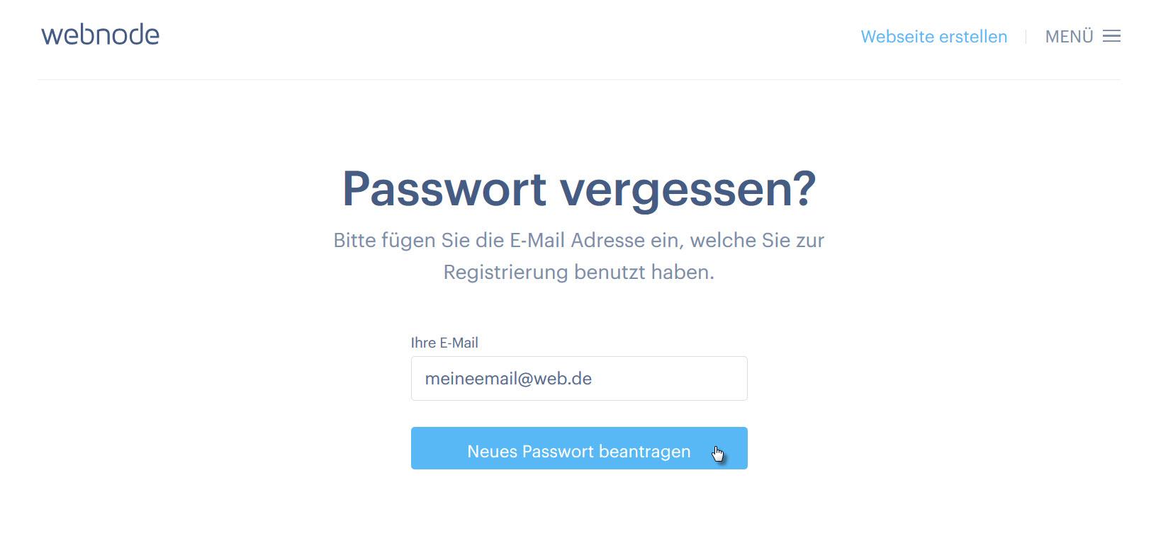 Live De Passwort Vergessen