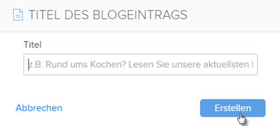Wie Sie Ihr Blog verwalten