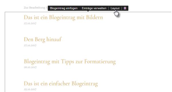 Wie kann ich Blog-Kategorien erstellen