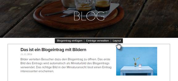 Wie man ein Blog hinzufügen kann