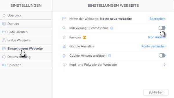 Wie kann man eine Webseite von den Suchmaschinen zu verstecken