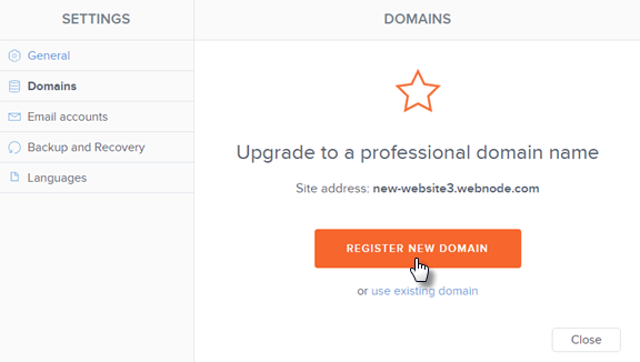 How to Register a Domain