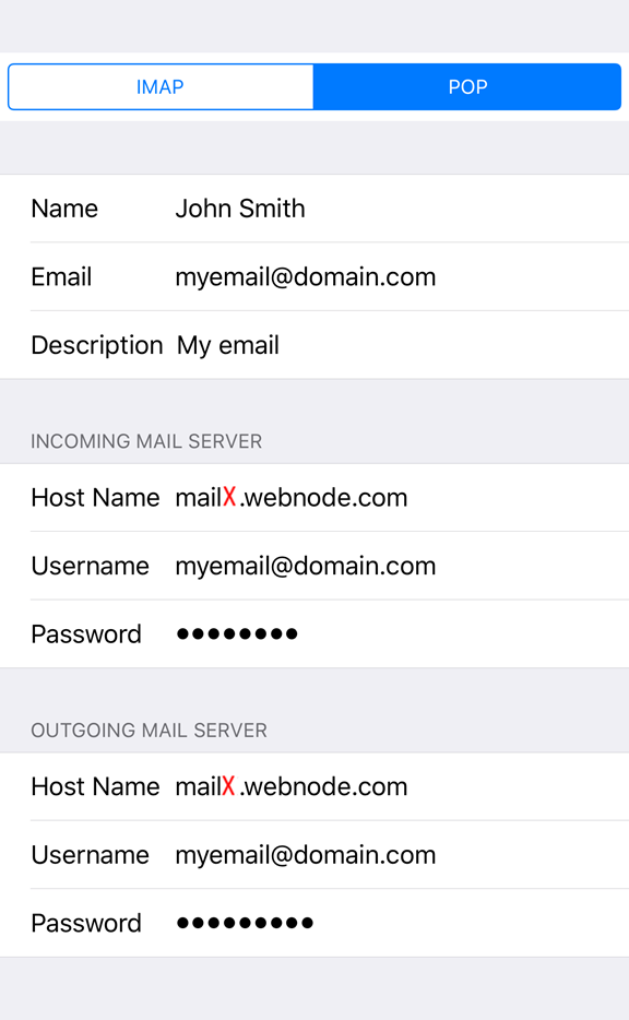 how to add email address to iphone