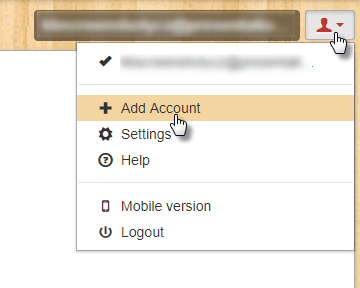 How to add more accounts