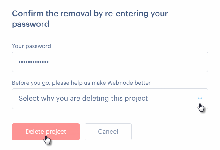 How to Delete Your Website