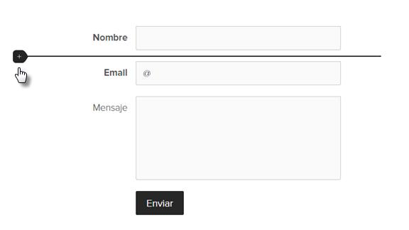 Cómo subir el formulario de contacto