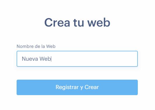 Cómo crear la web nueva