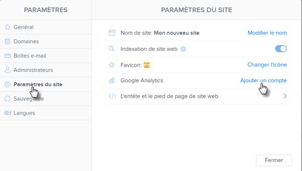 Webnode Comment Installer Google Analytics