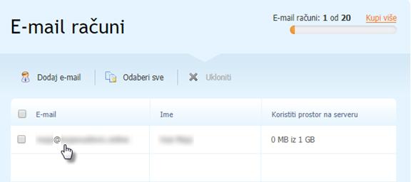 Kako postaviti prosljeđivanje e-mailova