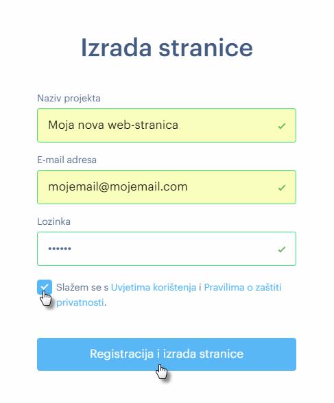 Kako se registrirati