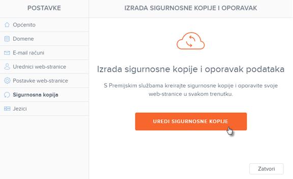 Kako kreirati sigurnosnu kopiju web-stranice