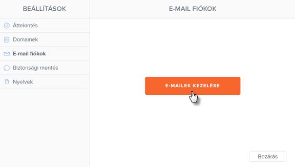 Hogyan hozz létre e-mail fiókot