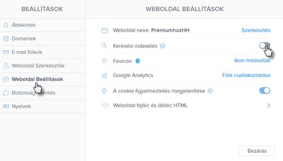 Hogyan tudom elrejteni a weboldalam a keresőmotorok elől