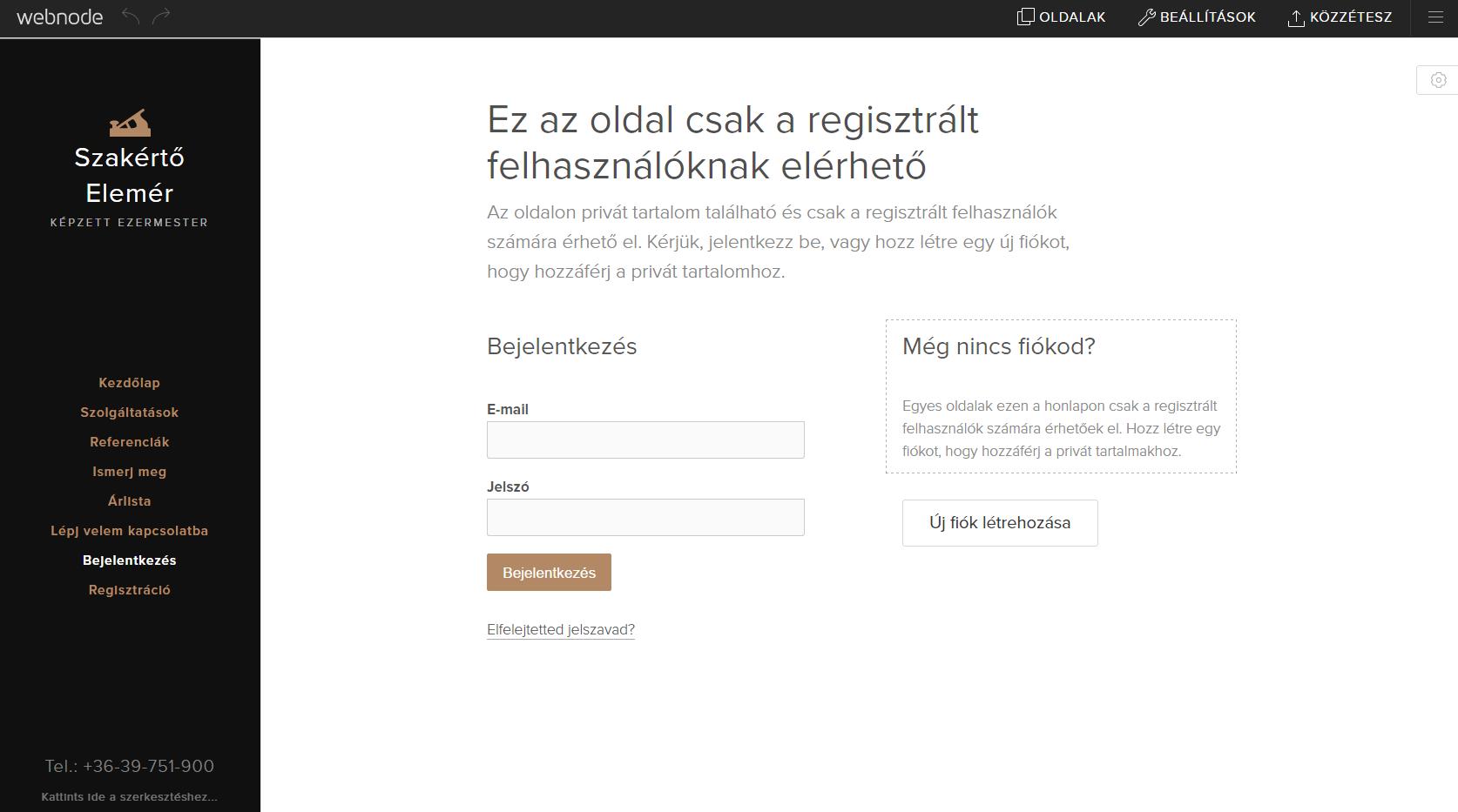 Hogyan adj felhasználó regisztráció funkciót weboldaladhoz