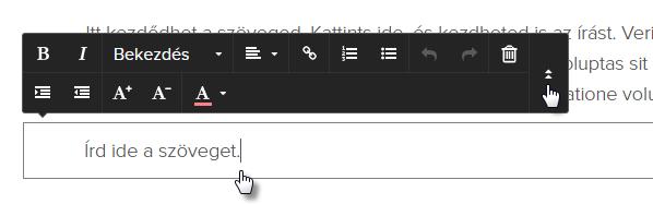 Hogyan illessz be szöveget