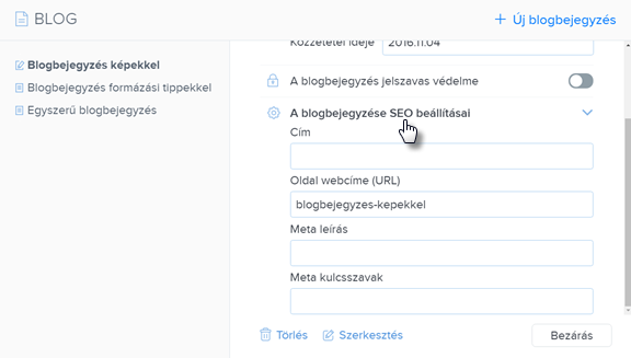 Hogyan szerkeszd a blogod?