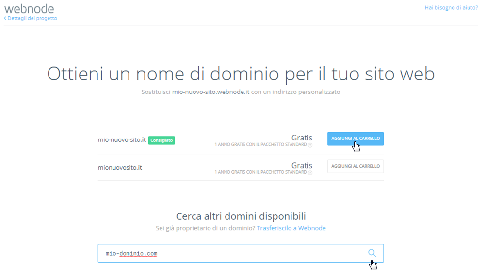 Come registrare un nome di dominio