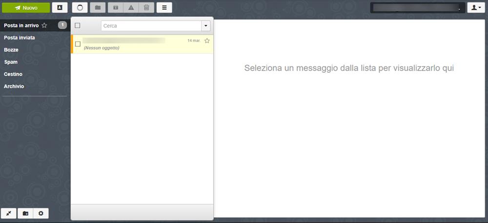Accedere alla webmail