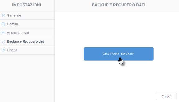 Recuperare un sito dal backup