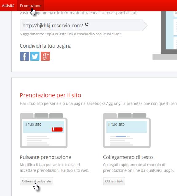 Calendario Per Sito Web.Webnode Aggiungere Un Calendario Prenotazioni Di Reservio