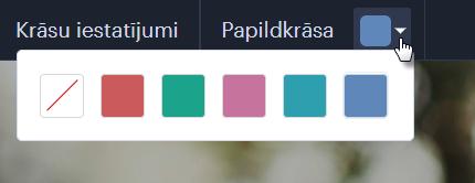 Kā nomainīt mājas lapas papildu krāsu