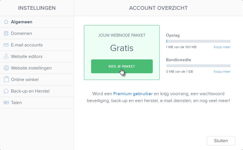 Hoe kan ik Premium Diensten Aankopen