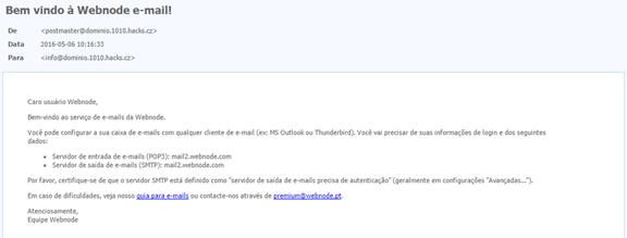 Configurar email no Android