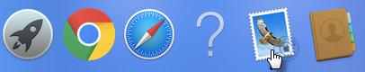 E-mail no MacOS