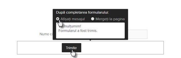 Editarea formularelor