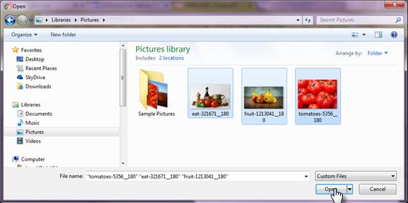 Adăugați o galerie de imagini